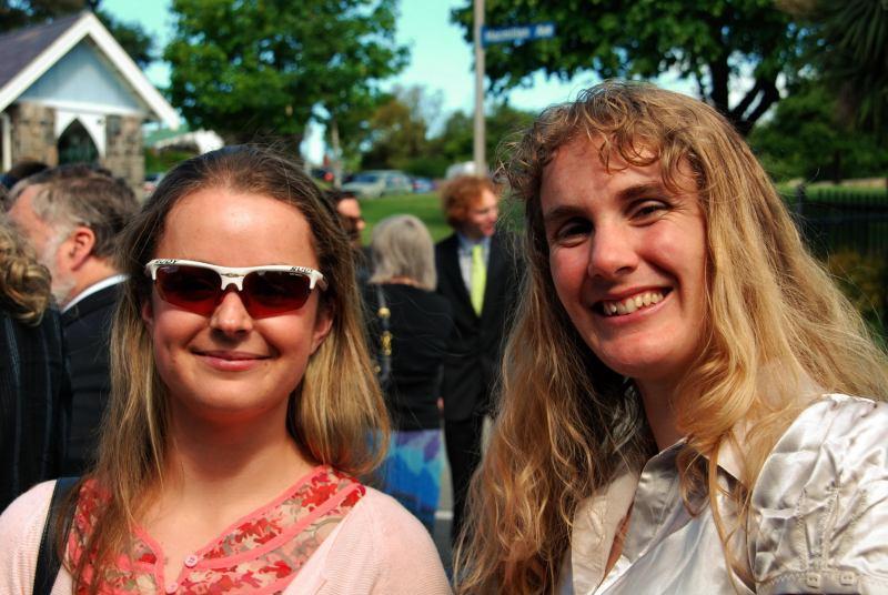 Katie and Gina 3 (Simon and Anita's wedding, Christchurch)