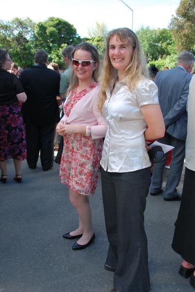 Katie and Gina (Simon and Anita's wedding)