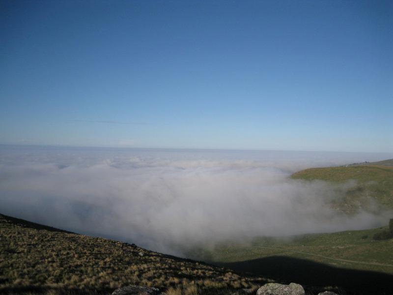 Mist coming in on race (Mt vernon, NZ)