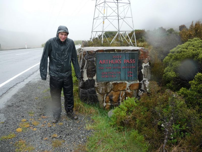 Rain in Arthurs Pass (Arthurs Pass)