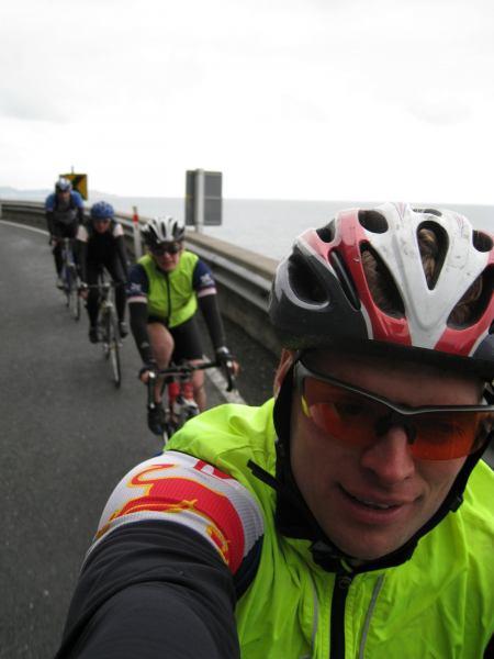 Riding along the Kaikoura coast (Kaikoura Coast)