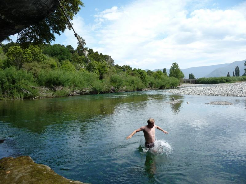 Swimming (Paynes Ford Swimming Hole)