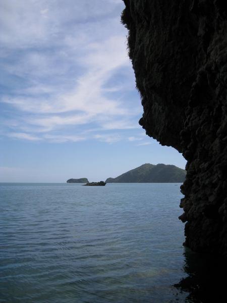 View towards Separation Point (Golden Bay, Takaka, NZ)