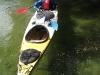 Frauke in kayak (Abel Tasman)