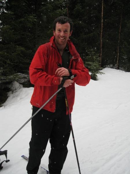 Chris grinning (Norway)