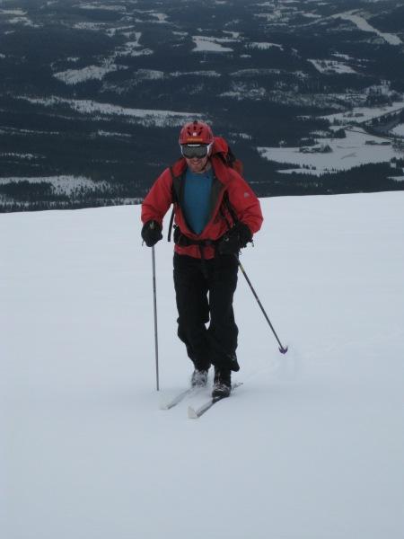 Chris heading up (Norway)