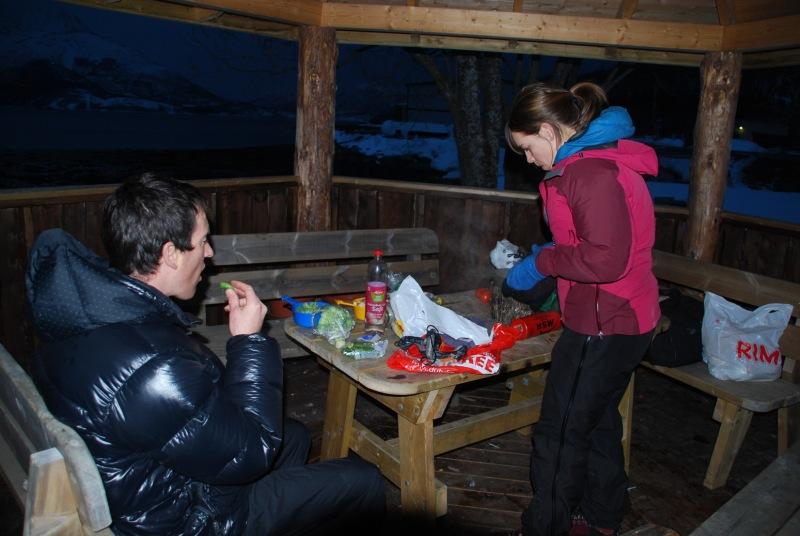 Dinner one night (Norway)