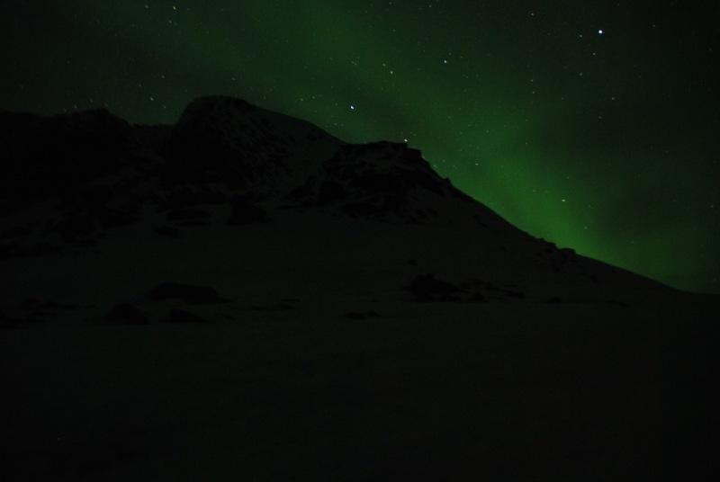 Northern lights (Ski touring Glomfjord, Norway)