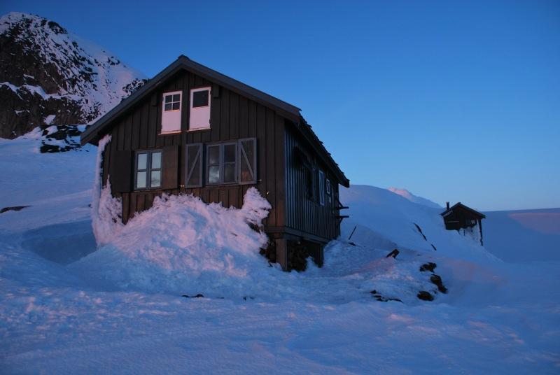 Our little hut (Ski Touring Glomfjord, Norway)