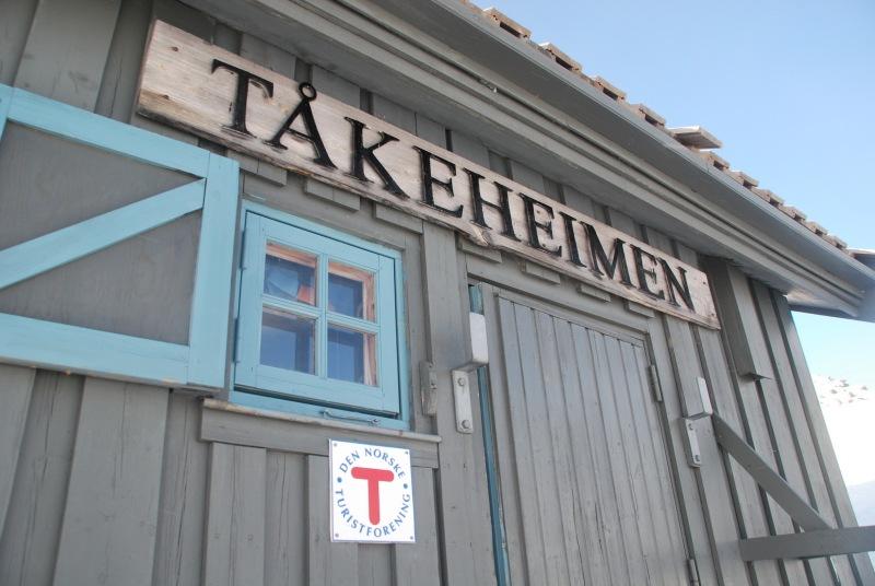 Takeheimen hut (Ski touring Glomfjord, Norway)