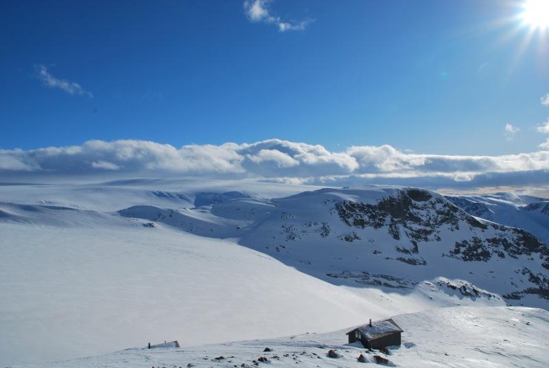 The hut 4 (Ski touring Glomfjord, Norway)