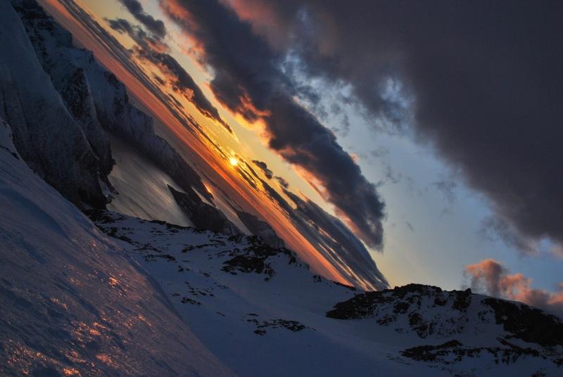 View of fiords 3 (Ski touring Glomfjord, Norway)
