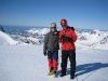 Cris and Chris (Ski touring Glomfjord, Norway)