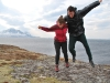 Emily and Chris lift off (Norway)