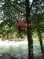 Cris being a monkey (OO.cup, Slovenia)