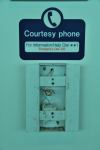 Ryanair courtesy phone (Stansted, London)