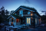 A restaurant (Cycle Touring Norway 2016)
