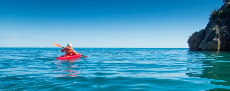 Kayaking to Totaranui (Golden Bay 2019)