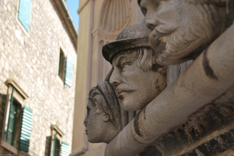 Statue in Šibenik (Croatia)