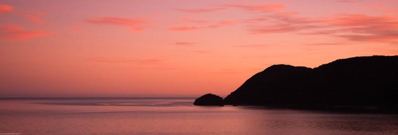 Sunrise at Wainui