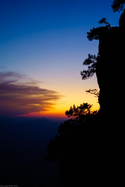 Sunset (Löwenzähne Westkante Sept 2019)