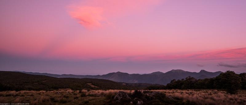 Sunset (Lake Sylvester Tramp)