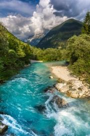 The Soča river (Summer Holidays 2016)