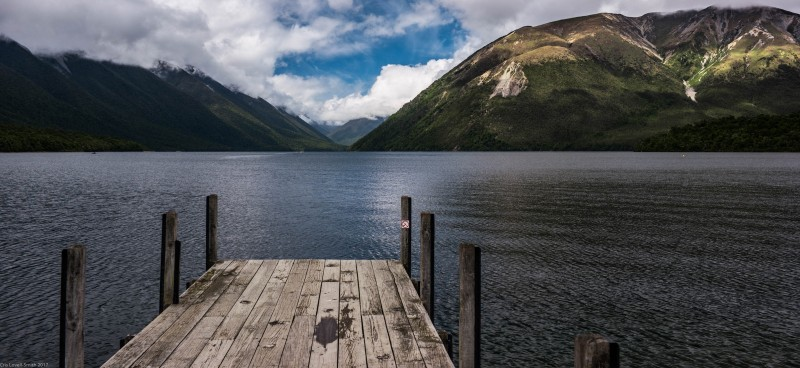 View across Lake Rotoiti (Nelson Lakes)