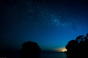 Awesome stars at Mosquito Bay (Seakayaking Abel Tasman Dec 2014)