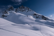 Nice mountains (Ski touring Jamtalhuette)