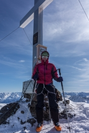 Some more posing (Ski touring Jamtalhuette)