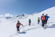 The gang (Ski touring Martin Busch Huette)