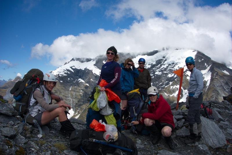 After the first ascent to above Rabbit Pass (Rabbit Pass Tramp Dec 2014)