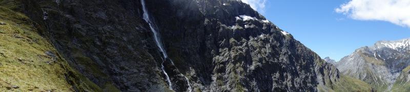 Panorama near Rabbit Pass Waterfall (Rabbit Pass Tramp Dec 2014)
