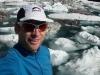 Cris and icebergs again (Rabbit Pass Tramp Dec 2014)