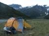 Tent at Ruth Flat (Rabbit Pass Tramp Dec 2014)