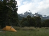 Tent at Top Forks Hut (Rabbit Pass Tramp Dec 2014)