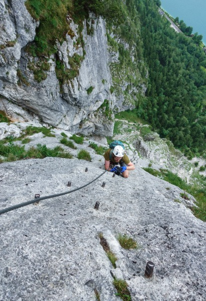 Quite steep (Salzkammergut Adventures)