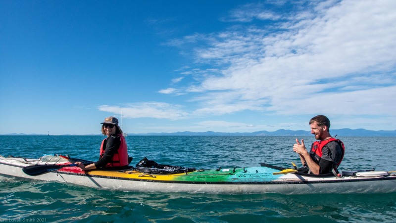 Annu and Craig (Seakayaking Abel Tasman April 2021)