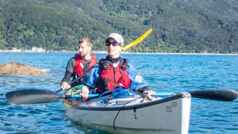 Craig and Ellen (Seakayaking Abel Tasman April 2021)
