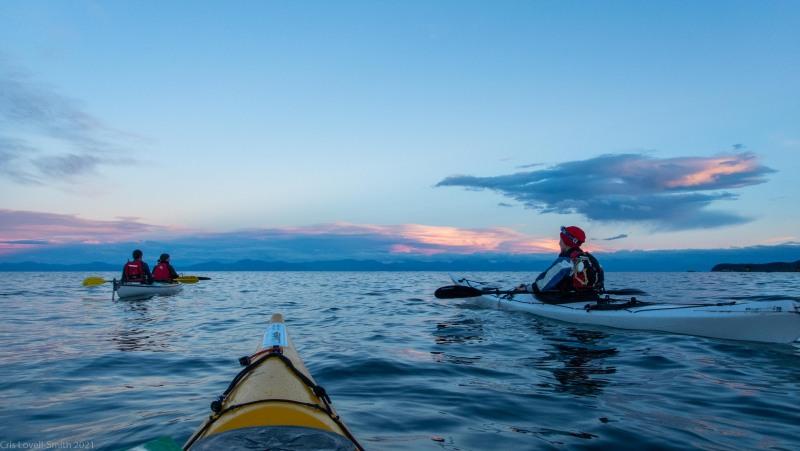 Evening kayak (Seakayaking Abel Tasman April 2021)