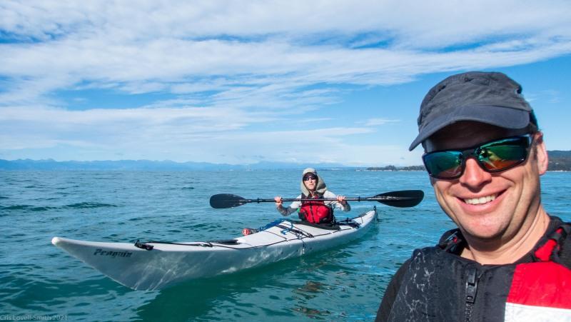Leaving (Seakayaking Abel Tasman April 2021)