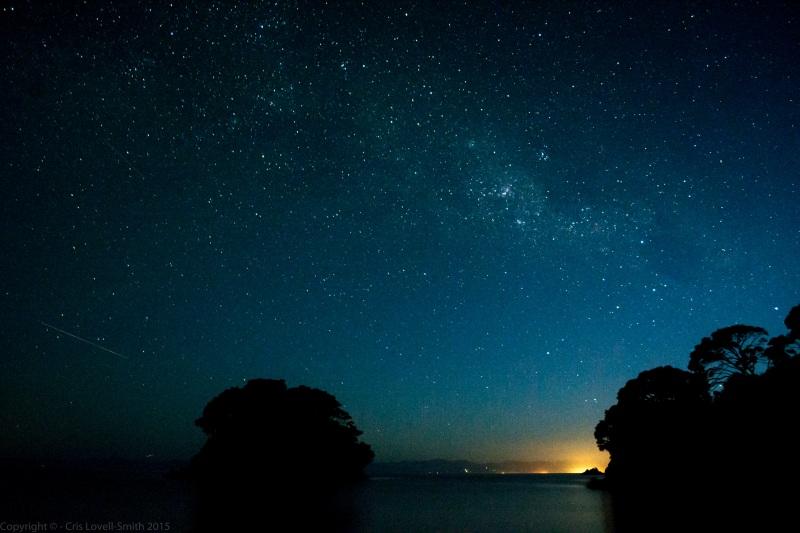 Awesome stars at Mosquito Bay (Seakayaking Abel Tasman Dec 2014)