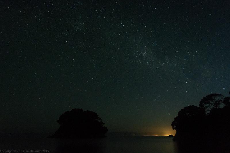 Mosquito Bay at night (Seakayaking Abel Tasman Dec 2014)