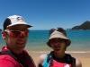 Cris and Leonie (Seakayaking Abel Tasman Dec 2014)