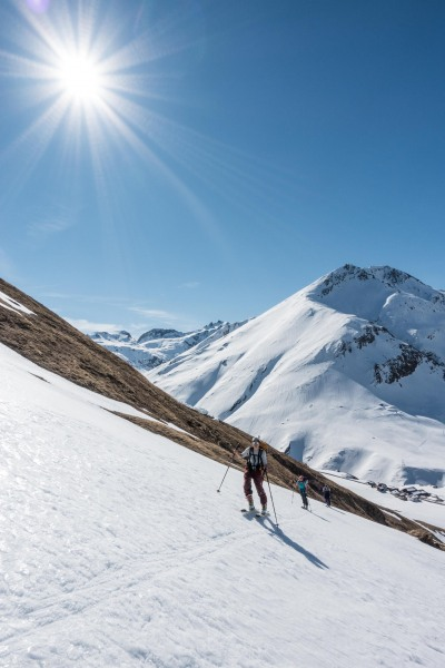 Another great day (Ski touring Avers March 2019)