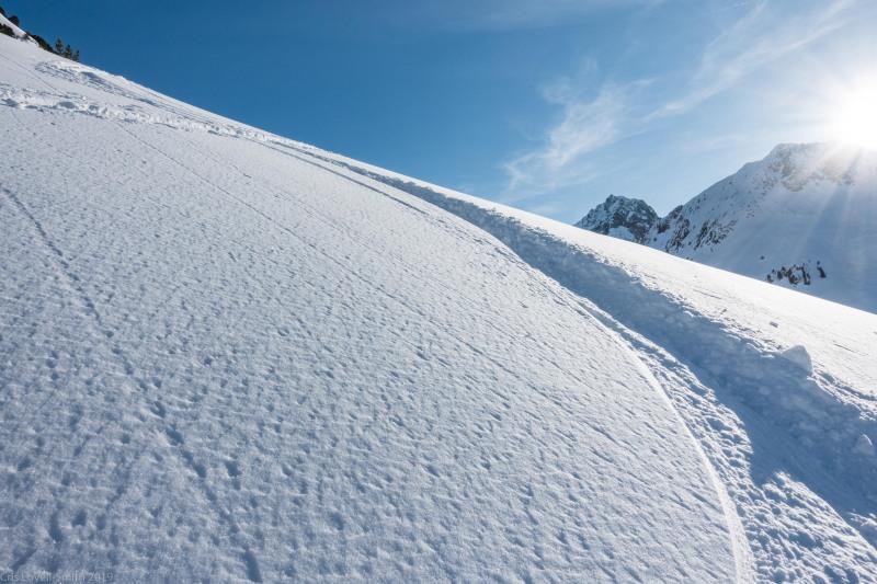 Beautiful powder (Skitouring Kuehtai March 2019)