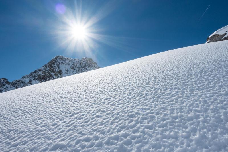Blue sky (Skitouring Kuehtai March 2019)