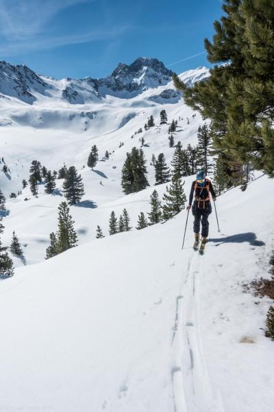 Craig skinning (Skitouring Kuehtai March 2019)