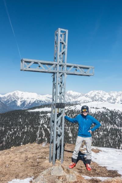 The summit of Zwölferköpfl (Skitouring Kuehtai March 2019)